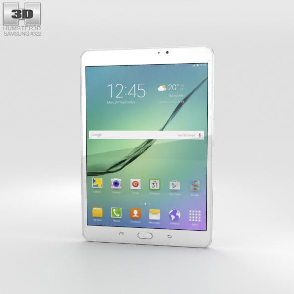Samsung Galaxy Tab S2 8.0 Wi-Fi White - 3DOcean Item for Sale