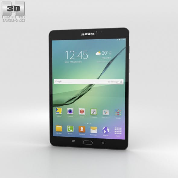 Samsung Galaxy Tab S2 8.0 Wi-Fi Black