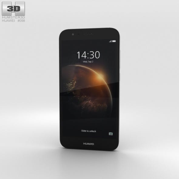 Huawei G8 Black - 3DOcean Item for Sale