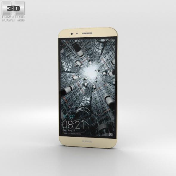 Huawei G8 Gold - 3DOcean Item for Sale