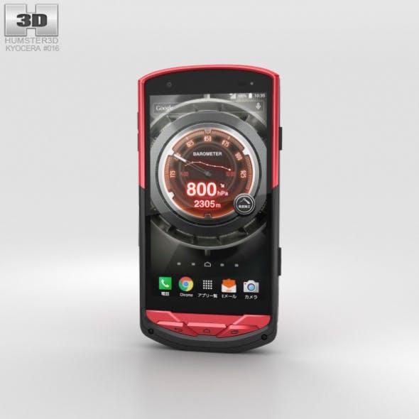 Kyocera Torque G02 Red - 3DOcean Item for Sale