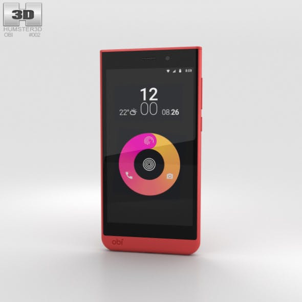 Obi Worldphone SJ1.5 Red