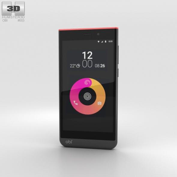 Obi Worldphone SJ1.5 Black/Red - 3DOcean Item for Sale