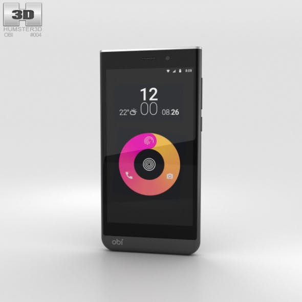 Obi Worldphone SJ1.5 Black/White - 3DOcean Item for Sale