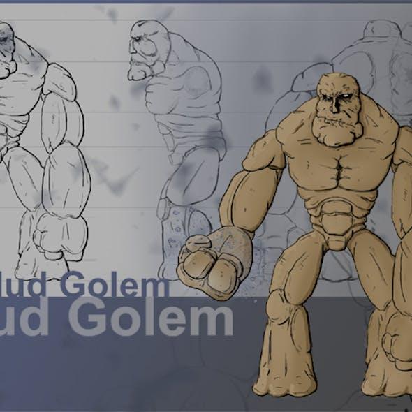 Mud Golem Concept