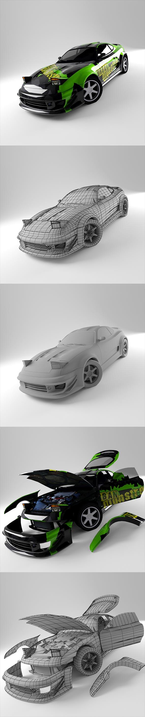Toyota Supra - 3DOcean Item for Sale