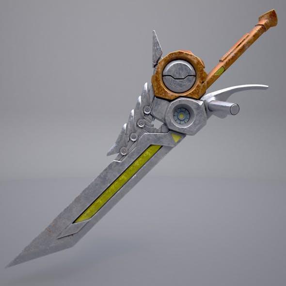 Fantasy sword_8 - 3DOcean Item for Sale