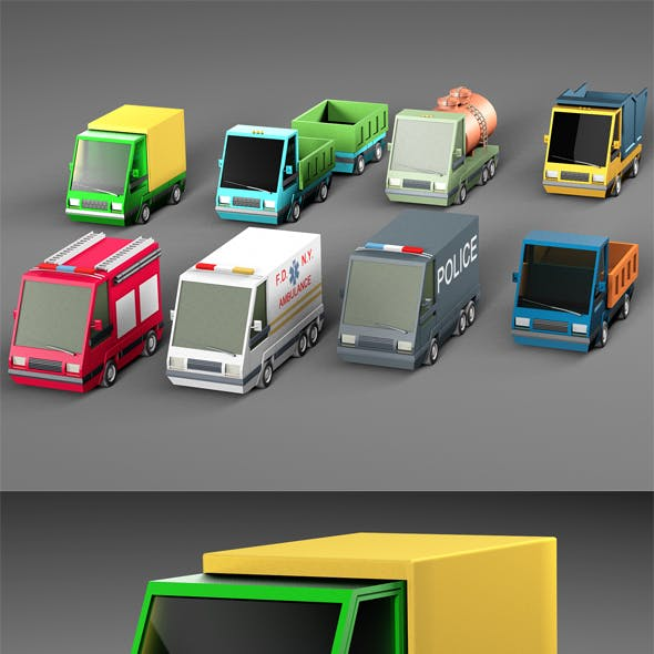 Complete Cartoon Vehicle Pack