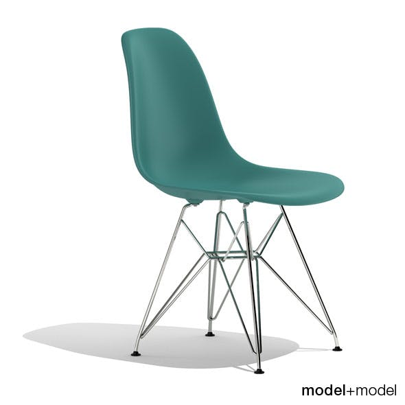 Eames Plastic Side Chair DSR - 3DOcean Item for Sale