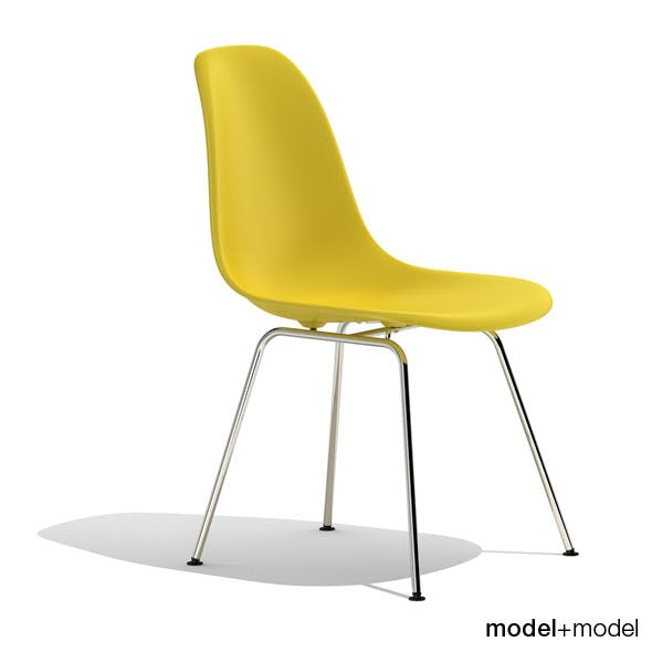 Eames Plastic Side Chair DSX - 3DOcean Item for Sale