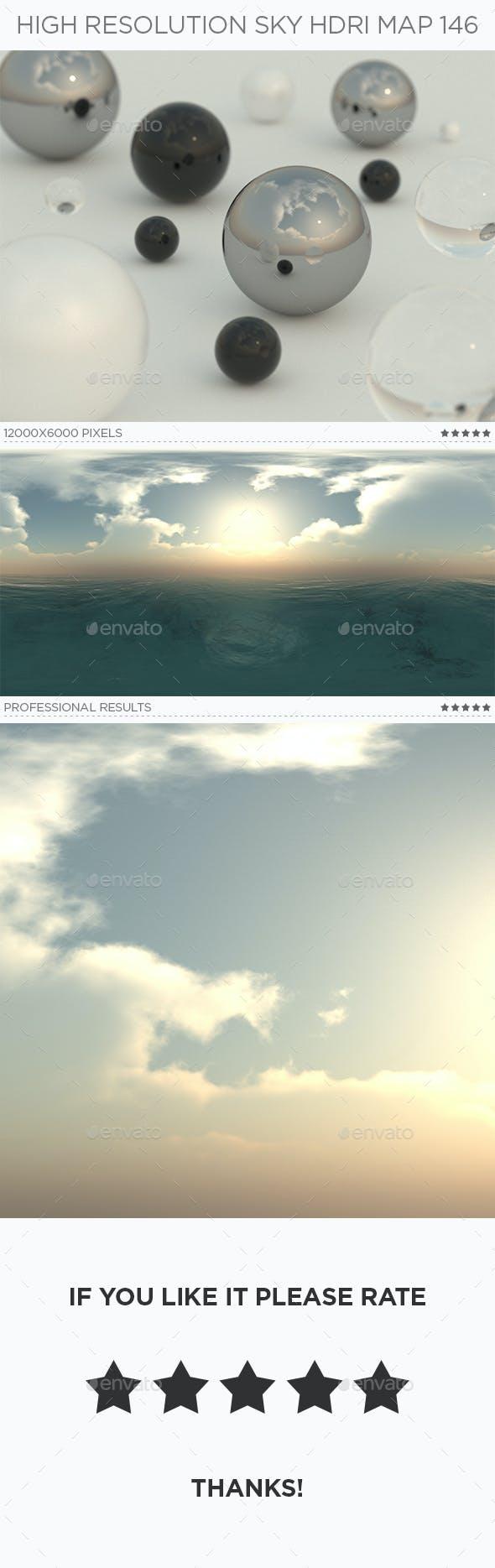 High Resolution Sky HDRi Map 146 - 3DOcean Item for Sale