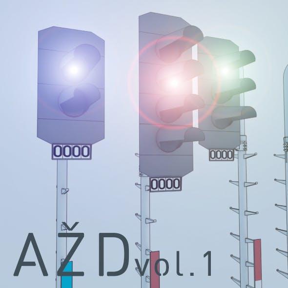 AŽD ČD Signals - 3DOcean Item for Sale
