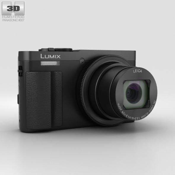 Panasonic Lumix DMC-TZ70 Black - 3DOcean Item for Sale
