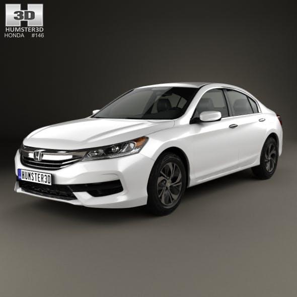 Honda Accord LX 2016 - 3DOcean Item for Sale