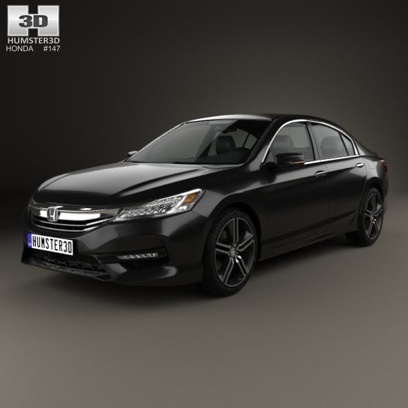 Honda Accord Touring 2016 - 3DOcean Item for Sale