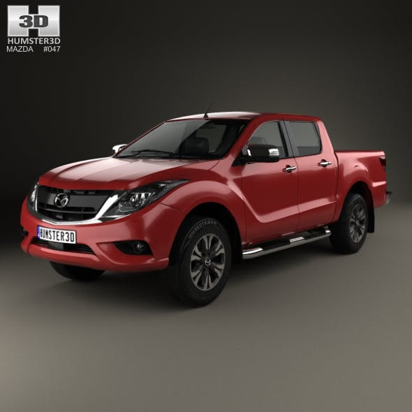 Mazda BT-50 Double Cab 2016 - 3DOcean Item for Sale