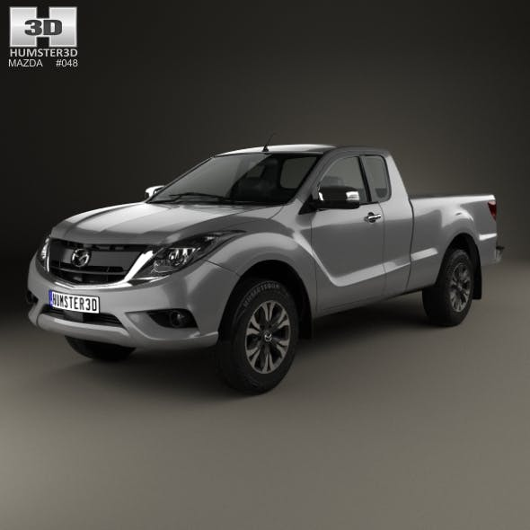Mazda BT-50 Freestyle Cab 2016 - 3DOcean Item for Sale