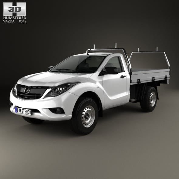Mazda BT-50 Single Cab Alloy Tray 2016 - 3DOcean Item for Sale