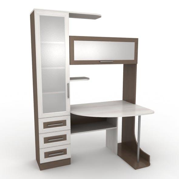 Computer desk - 3DOcean Item for Sale