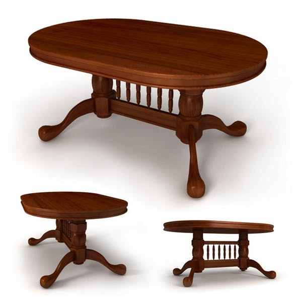 """Dining table """"Malaysia"""" - 3DOcean Item for Sale"""