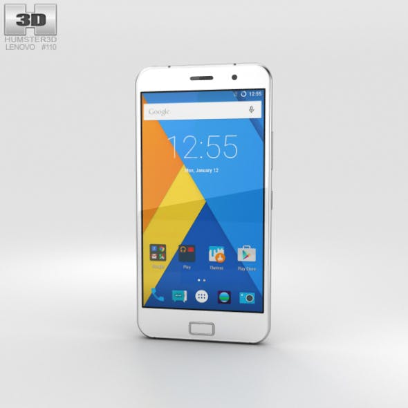 Lenovo Zuk Z1 Dark Gray - 3DOcean Item for Sale
