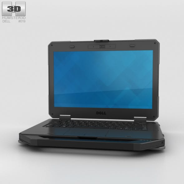Dell Latitude 14 Rugged - 3DOcean Item for Sale