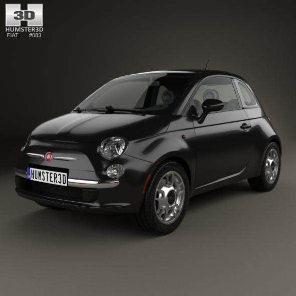 Fiat 500 Trendy 2015 - 3DOcean Item for Sale