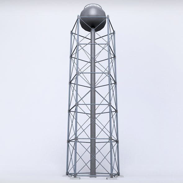 Scaffolding radio tower power small - 3DOcean Item for Sale