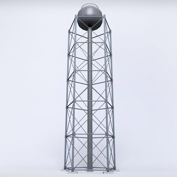 Scaffolding radio tower power small