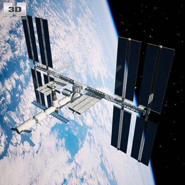 International Space Station - 3DOcean Item for Sale