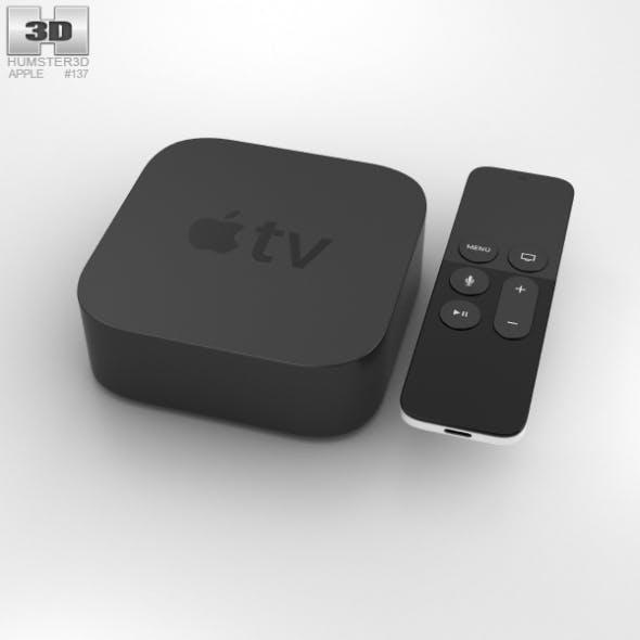 Apple TV (2015) - 3DOcean Item for Sale