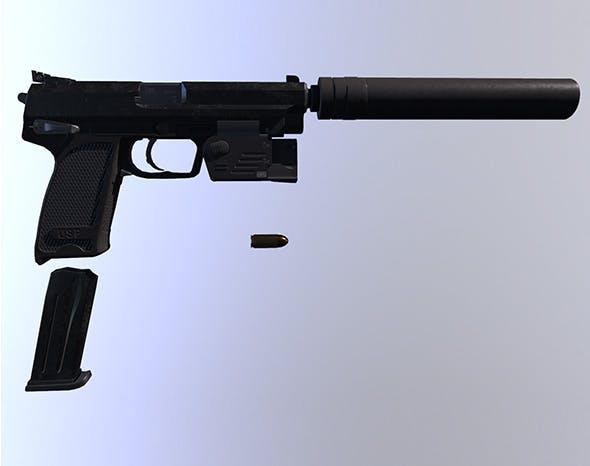 HK USP Expert - 3DOcean Item for Sale