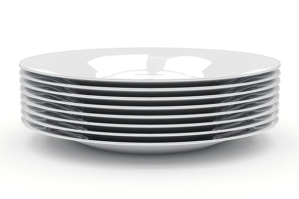 Plate - 3DOcean Item for Sale