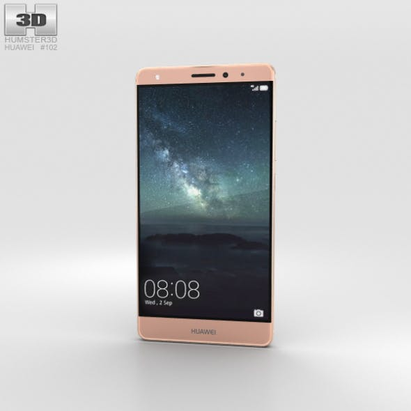 Huawei Mate S Rose Gold - 3DOcean Item for Sale