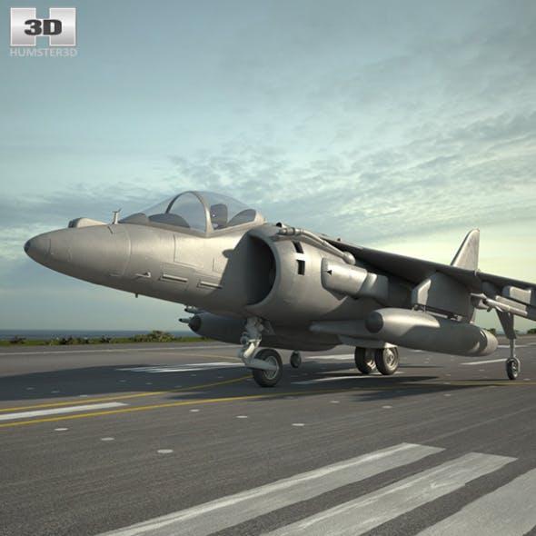 McDonnell Douglas AV-8B Harrier II - 3DOcean Item for Sale
