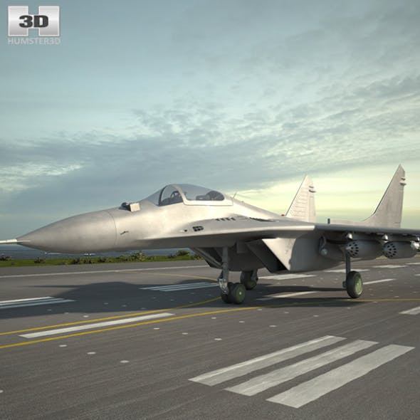 Mikoyan MiG-29 - 3DOcean Item for Sale