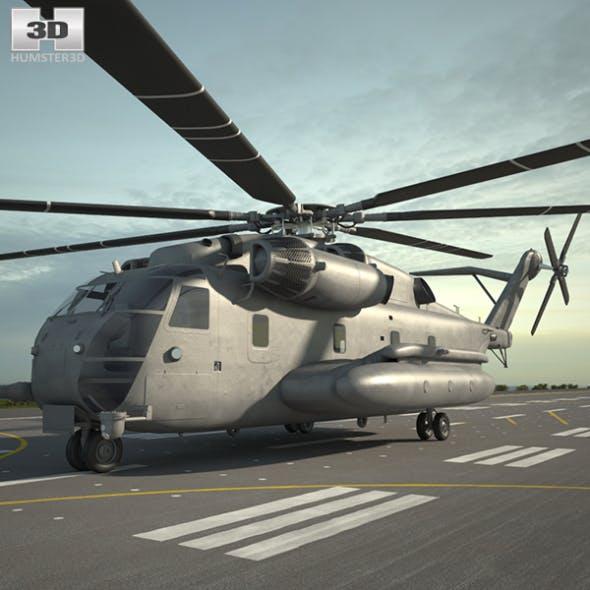 Sikorsky CH-53E Super Stallion - 3DOcean Item for Sale