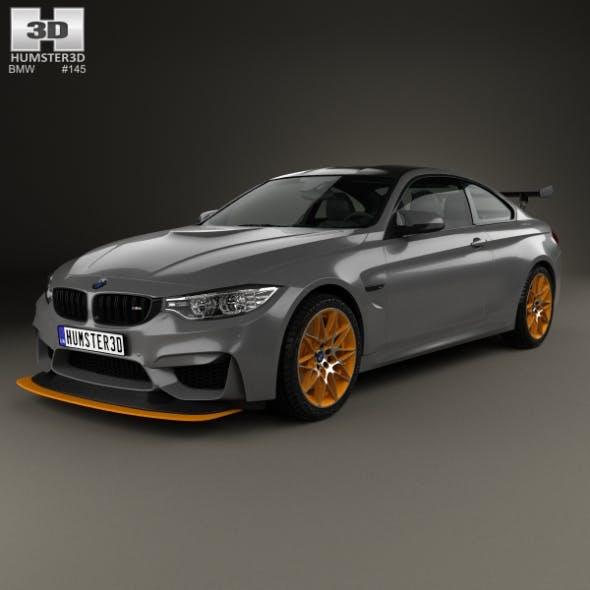 BMW M4 GTS Concept 2015 - 3DOcean Item for Sale