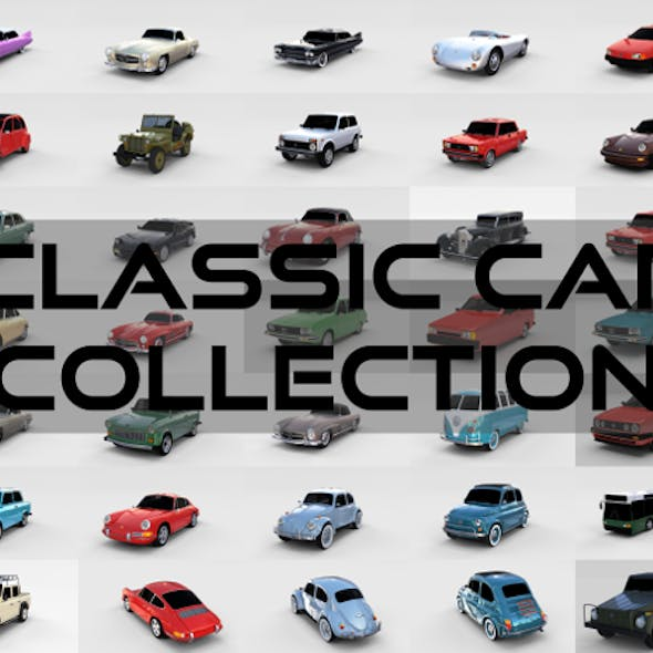 32 Classic Car Collection