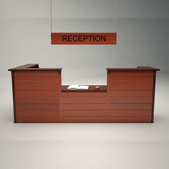 The Reception Desk - 3DOcean Item for Sale