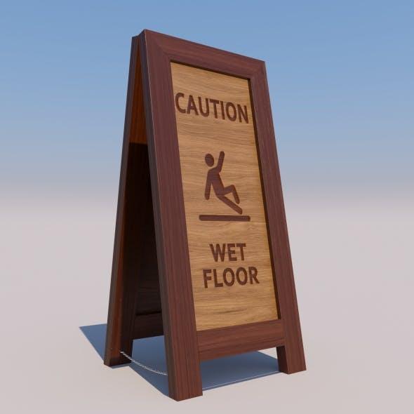 Sign Frame A - 3DOcean Item for Sale