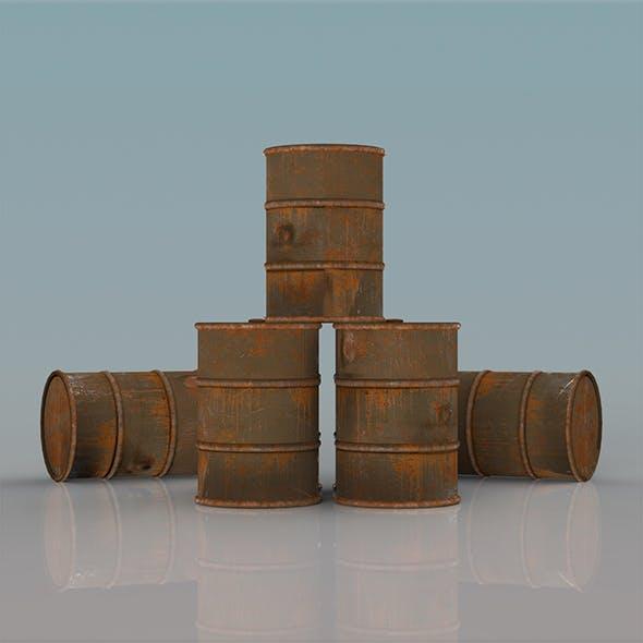 Barrel Set - 3DOcean Item for Sale
