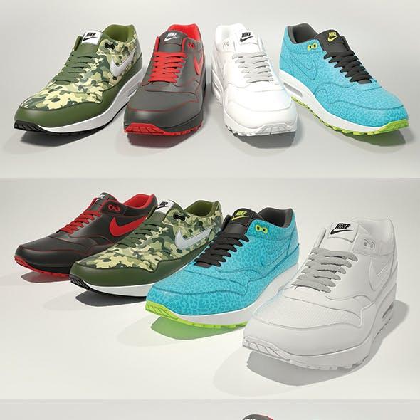 Nike Air Max 1 3D model