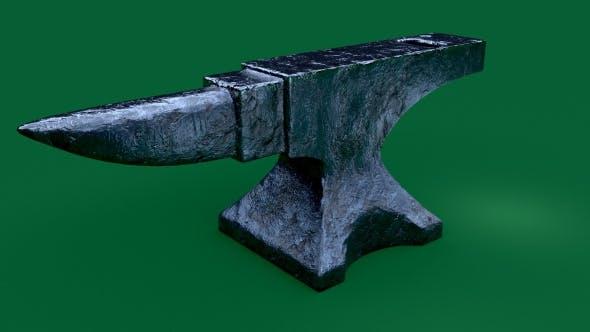 Damaged/Scratched Anvil - 3DOcean Item for Sale