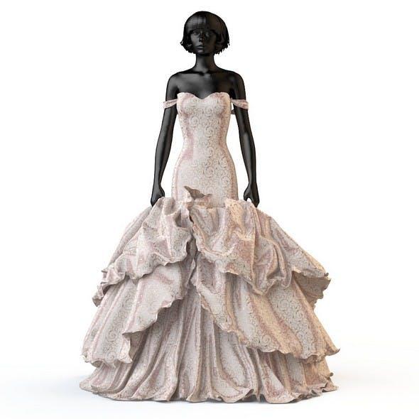 Wedding evening dress holiday Escort fashion designer - 3DOcean Item for Sale