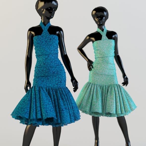 Dress holiday Escort fashion designer