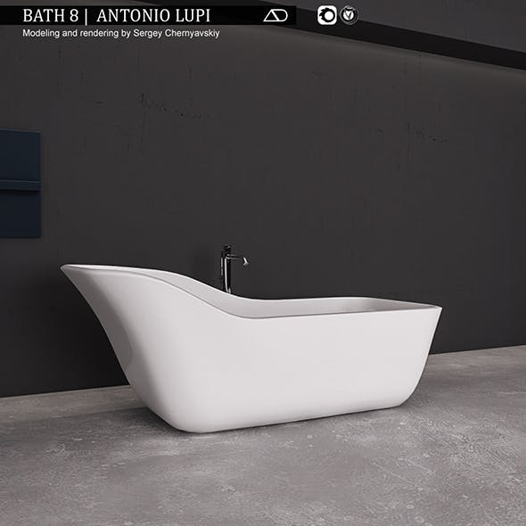 Bath 8 Antonio Lupi - 3DOcean Item for Sale