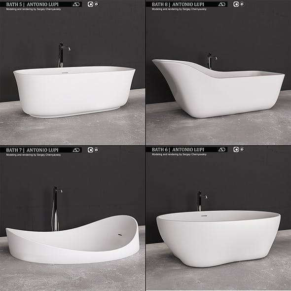 Bath collection 2 Antonio Lupi