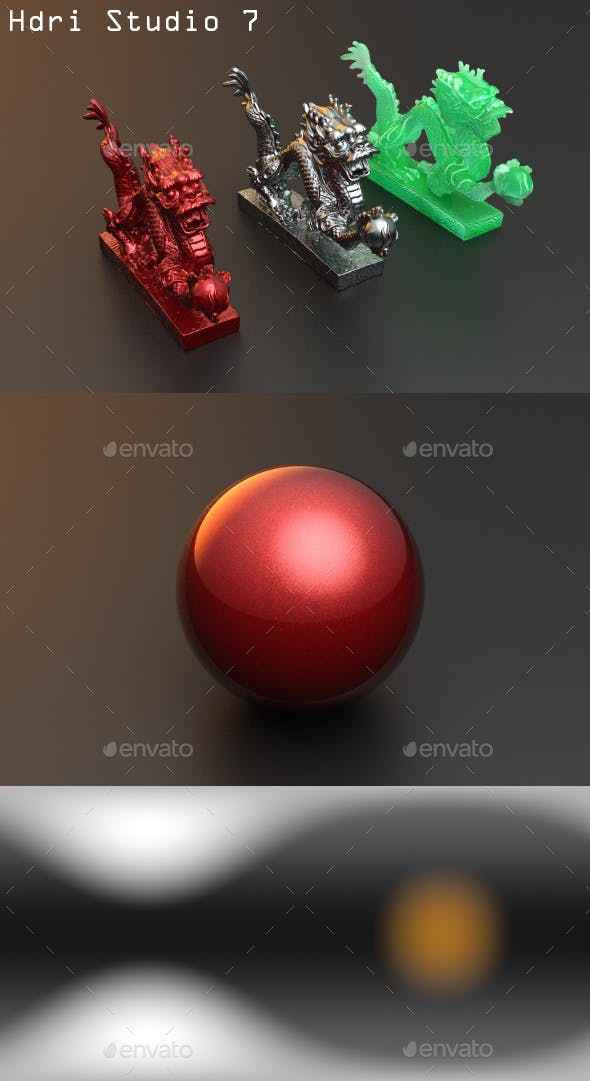Hdri Studio 7 - 3DOcean Item for Sale
