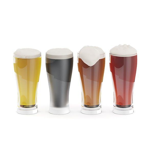 Beer Glasses - 3DOcean Item for Sale